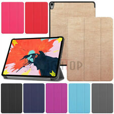 For iPad Pro 12.9 3rd Gen 11'' 2018 Case Magnetic Smart Flip Trifold Stand Cover