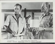 William Holden Michael Goodliffe in The 7th Dawn 1964 original movie photo 25630