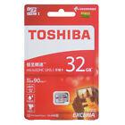32GB 64GB 128GB Toshiba EXCERIA 90MB/s SDHC/SDXC TF M302 4K Micro SD Memory Card