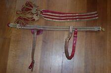 More details for victorian officers 1881-1901 levee dress sash, waist belt & matching slings