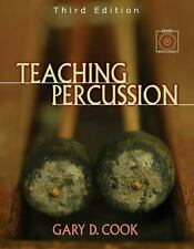 Teaching Percussion [With 2 DVD Set] by Gary D. Cook Spiral Book (English)