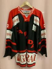 RARE CANADA NATIONAL TEAM ICE HOCKEY SHIRT JERSEY VINTAGE OCHSNER SPORT SIZE XL