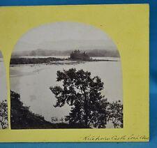 1860s Stereoview Photo Kilchurn Castle Loch Awe Scotland Francis Frith