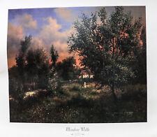 """""""Meadow Walk"""" by Maxwell Parson 35x31"""" Reprint"""