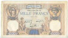 GB010 - Banknote Frankreich 1000 Francs 1940 (30 Mai) Pick#90c RAR France