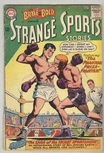 Brave and the Bold #47 April 1963 G/VG Strange Sports Stories