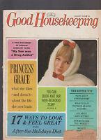 Good Housekeeping Magazine January 1965 Princess Grace Kelly My Son Drug Addict