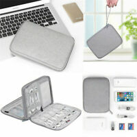 Travel Electronic Accessories Data Cable Organizer Bag USB Charger Storage Case
