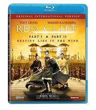 RED CLIFF : Parts 1 & 2 (John Woo) -  Blu Ray - Sealed Region free