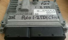 03P906021AD 1.2 TDI VW POLO ENGINE ECU DELPHI DIESEL
