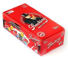 1 box - SMOKING Red Regular rolling paper 50 x 60 = 3000 papers