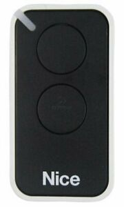 Nice INTI 2 Channel Remote Control - NICE Era - INTI2 - Black