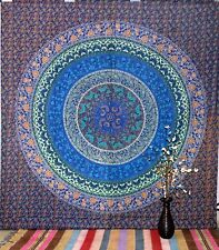 Mandala Tapestry Wall Hanging Home Decor Bedspread Queen Size Beach Sheet Boho