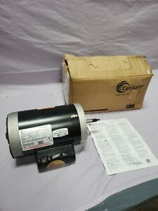 CENTURY B969 Motor 1 1/2 1/5 HP 3,450/1,725 rpm 115V Tested New in Box
