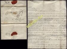 1798 John Bell Barristers letter ,Charles Wren, Mary Lyons marriage to Wilkinson