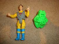 Vintage Kenner The Real Ghostbusters Screaming Heroes Peter Venkman with Ghost