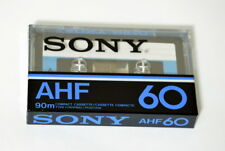 SONY AHF 60 JAPAN 1978 BLANK CASSETTE TAPE  SEALED