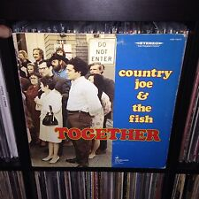 ORIG NM Country Joe And The Fish - Together LP 1st PRESS Record Vanguard 1968