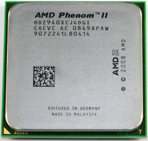 AMD Phenom II X4 940 Black Edition - 3GHz Quad-Core (HDZ940XCJ4DGI) Processor