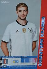 CHRISTOPH KRAMER - A3 Poster (ca. 42 x 28 cm) - Fußball EM 2016 Clippings