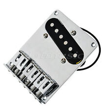 Chrome 6 Saddle Bridge Pickup Screws for Fender Telecaster Guitar Replacement
