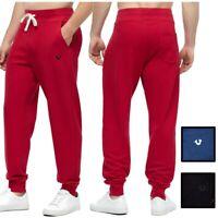 True Religion Men's Brand Logo Jogger Sweatpants