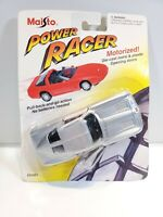 Maisto Power Racer Corvette Stingray 1/43 Diecast Silver NOC 1995