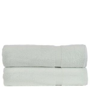 Bare Cotton Luxury Hotel & Spa Towel Turkish Bath Sheets Dobby Border
