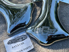 New Set Chevrolet Script Stainless Steel Exhaust Tips ! (Fits: Truck)