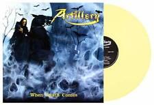LP ARTILLERY - WHEN DEATH COMES - YELLOW VINYL - NUOVO NEW