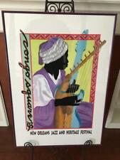 Limited Edition, 1993 New Orleans Jazz & Heritage Festival Framed Poster