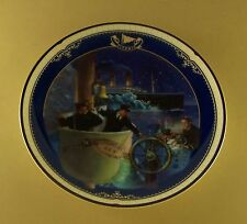 Titanic: Queen Of The Ocean ALL HANDS ON DECK Plate #11 + COA James Griffin