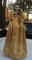 Large Vintage Cloth Thailand or Southeast Asian Doll Needs Some TLC