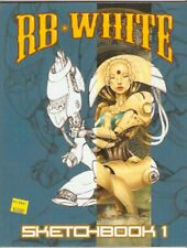 Sketchbook 1 by Heavy Metal Artist Rb White 2015 Softcover Autographed Art Book