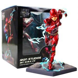 Iron Studios 1/10 Justice League The Flash Pre-Painted Artfx+ Statue Figures Toy