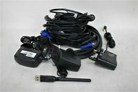 PC Video/Network Cables Bundle Inc. VGA, Ethernet, Coaxial Patch & Generic Power