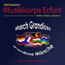 """WEHRBEREICHSMUSIKKORPS III ERFURT """"MARCH GRANDIOSO"""" CD"""