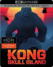 Kong: Skull Island - SteelBook[4K Ultra HD /Blu-ray/Blu-ray 3D No Digital Copy