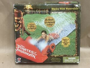 DISNEY PIRATES THE CARIBBEAN WACKY WATERSLIDE WATER SLIDE, MISSING GROUND STAKES