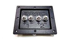 Steve Meade SMD Dual Box Terminals Heavy Duty Grade 8 Hardware PVC Black
