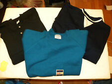 Lot of 3 Men's Pullover Sweatshirts - NEW - 3XL - Blue - Black - EB35