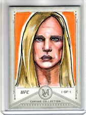 2019 Topps UFC Museum Collection HOLLY HOLM 1/1 SKETCH CARD Mike Mastermaker