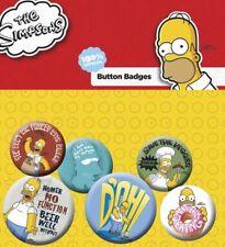 GB Auge die Simpsons Homer Abzeichen Pack