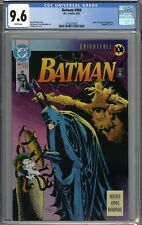 Batman #494 CGC 9.6 NM+ Knightfall Part 5 WHITE PAGES