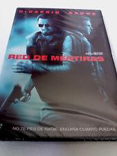 """DVD """"RED DE MENTIRAS"""" PRECINTADO SEALED LEONARDO DICAPRIO RUSSEL CROWE RIDLEY SC"""