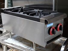 New! Gas Counter Top Hot Plate 2 Burner.