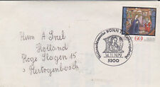 Germany BRD Bundespost 1979 MI 1032 auf brief Erstausgabe-Stempel Bonn