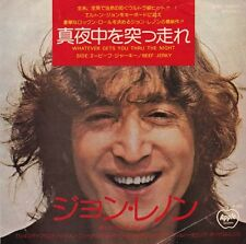 "JOHN LENNON - Whatever Gets You Thru The Night  (ps, japan)  7"" 45"
