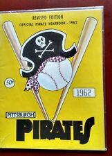 Vintage Baseball 1962 PITTSBURGH PIRATES Team Yearbook Forbes Field Rare ROBERTO