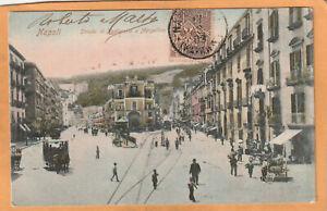 Napoli Italy 1908 Postcard